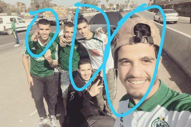 المشجعون المغاربة
