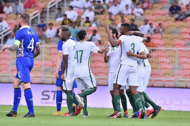 السعودية تفوز على مولدوفا 3-0