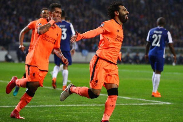 محمد صلاح سجل هدف فى لقاء الذهاب