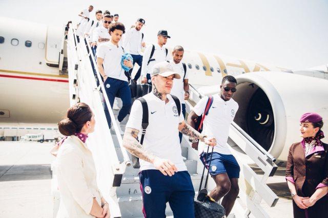 مانشستر سيتى فى الإمارات