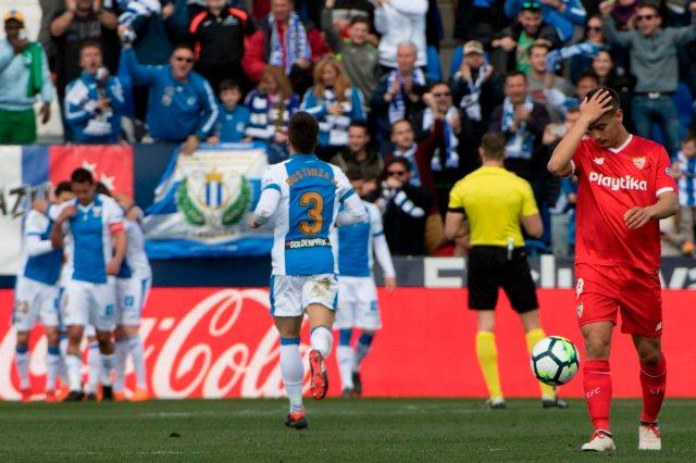 ليجانيس فاز على إشبيلية 2-1