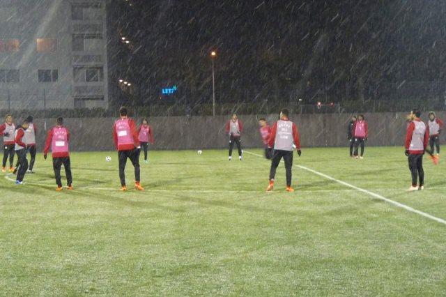 تدريب منتخب مصر في سويسرا