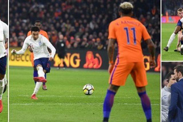 مباراة هولندا وانجلترا
