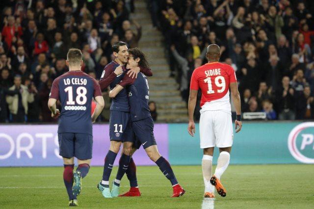 أهداف وملخص مباراة باريس سان جيرمان و موناكو