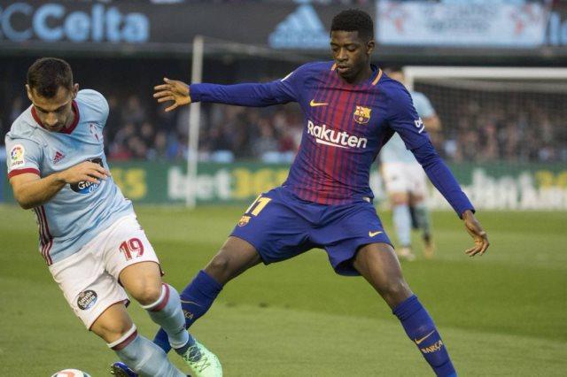 مباراة برشلونة وسيلتا فيجو ــ الشوط الأول