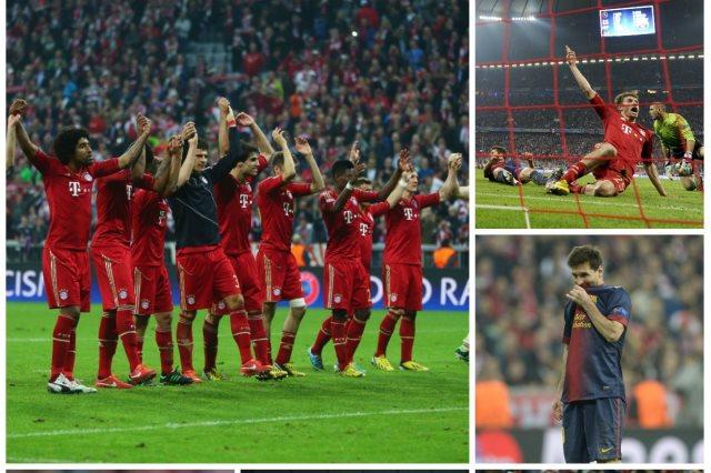 البايرن يهزم برشلونة 4-0