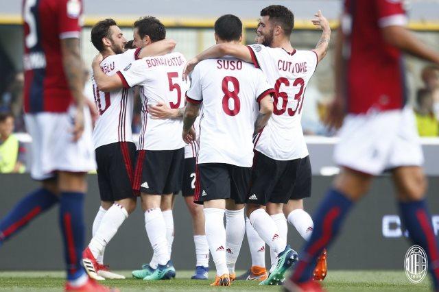 ميلان فاز على بولونيا 2-1