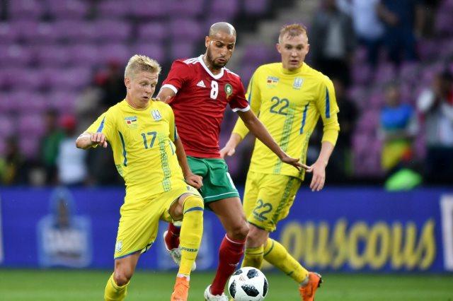 المغرب واوكرانيا
