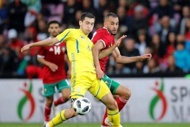 نتيجة بحث الصور عن منتخب المغرب وأوكرانيا