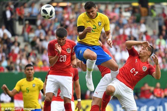 البرازيل والنمسا