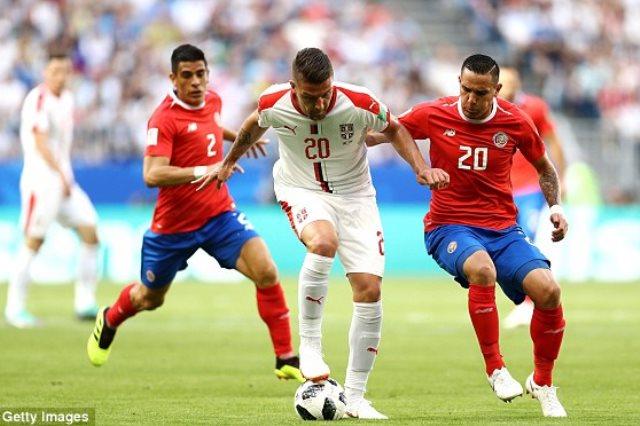 صربيا وكوستاريكا