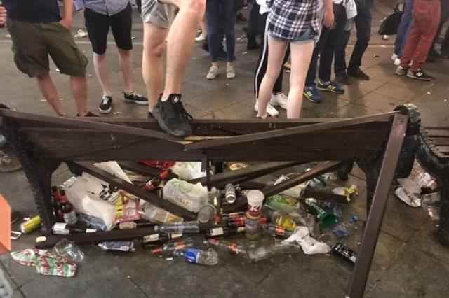 القمامة فى موسكو