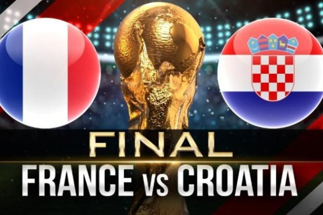 فرنسا فى مواجهة كرواتية