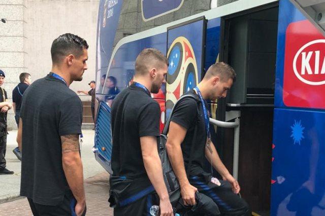 مغادرة لاعبى كرواتيا