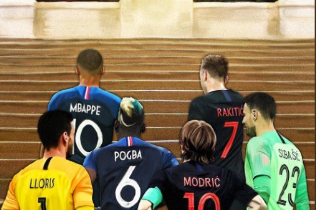 فرنسا فى مواجهة كرواتيا