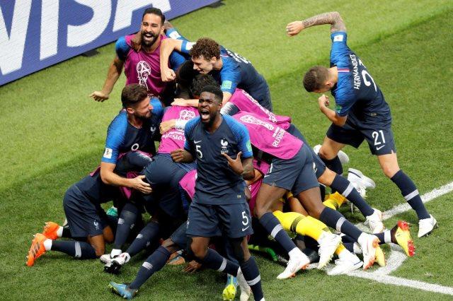 فرنسا بطلة مونديال 2018