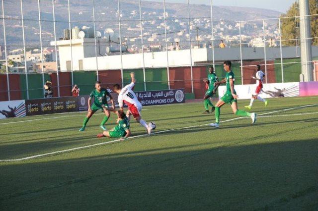 الرجاء يفوز 2-1 على السلام زغرتا