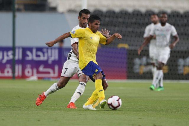 النصر يفوز على الجزيرة 2-1