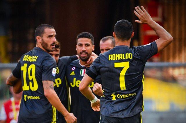 يوفنتوس يفوز على كييفو فيرونا 3-2
