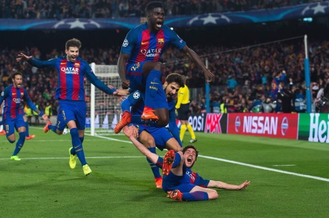 ريمونتادا برشلونة ضد سان جيرمان