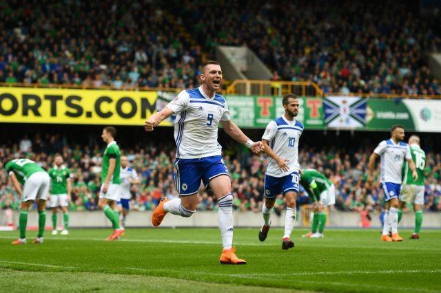 البوسنة تفوز على أيرلندا الشمالية