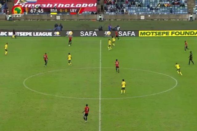ليبيا تتعادل مع جنوب أفريقيا