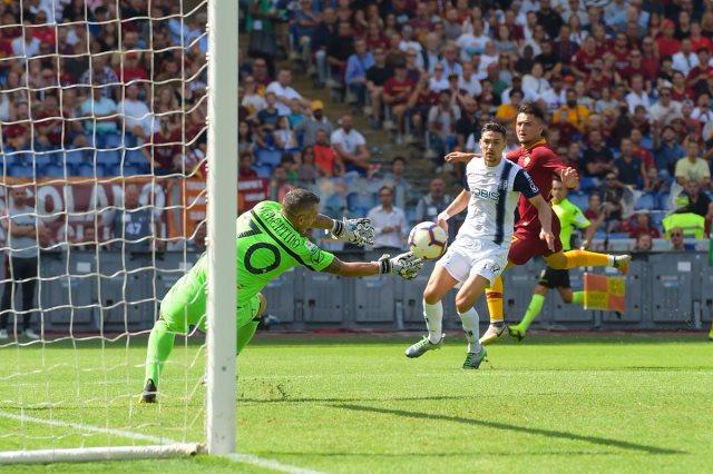 روما يتعادل مع كييفو فيرونا