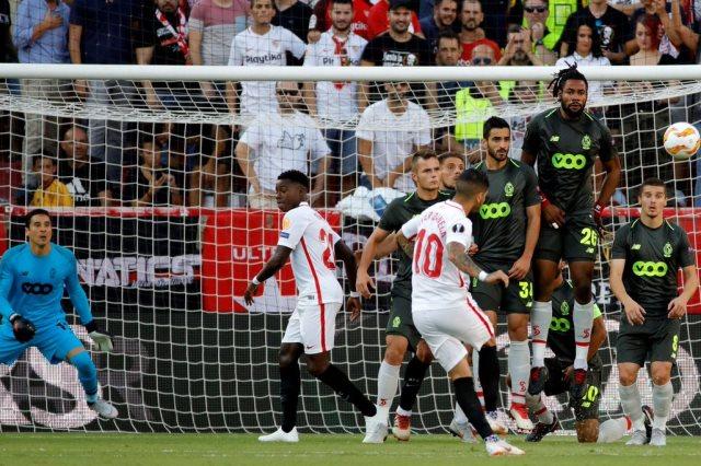 إشبيليه سفوز على ستاندرد ليج 5-1