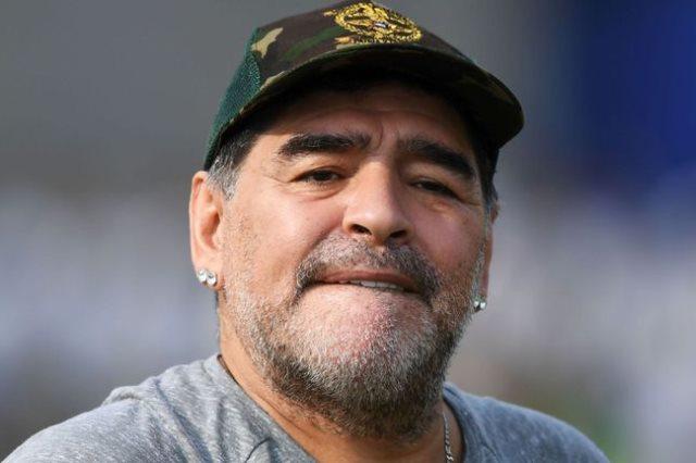 دييجو أرماندو مارادونا، نجم منتخب الأرجنتين السابق