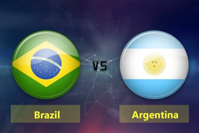 البرازيل فى مواجهة الأرجنتين