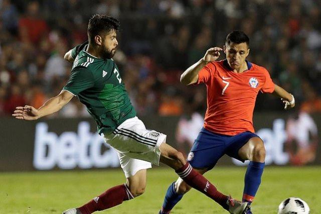 تشيلى تفوز على المكسيك