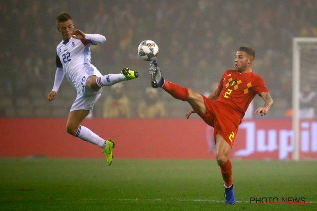 بلجيكا تفوز على أيسلندا