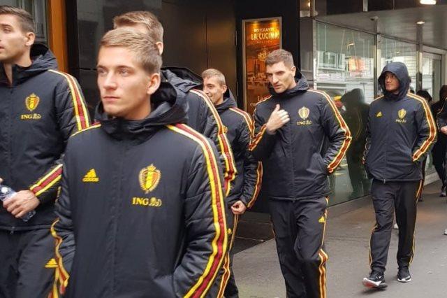 بلجيكا تتأهب لمواجهة سويسرا بدوري الأمم الأوروبية