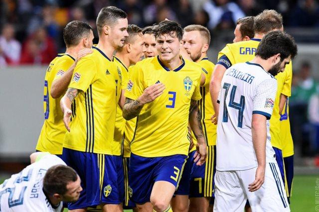 السويد تفوز على روسيا