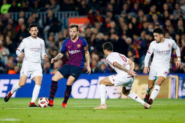 برشلونة يفوز على كولتورال ليونيسا