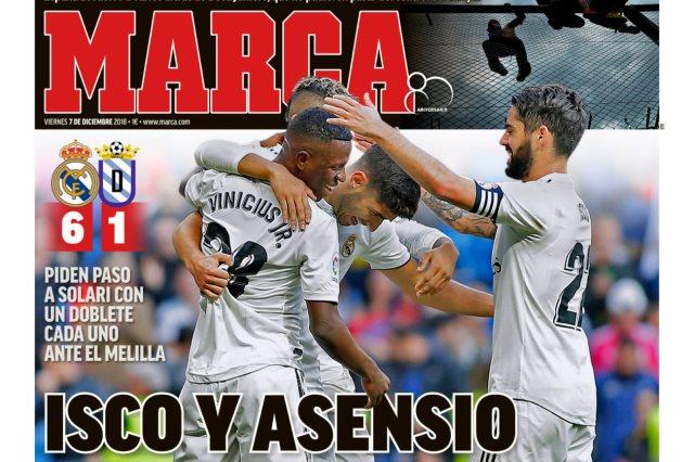 الصحف الاسبانية
