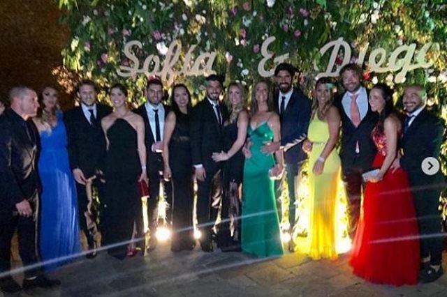 نجوم اوروجواي في حفل زفاف جودين