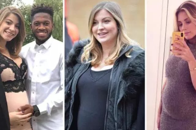 زوجات لاعبو مانشستر يونايتد الحوامل
