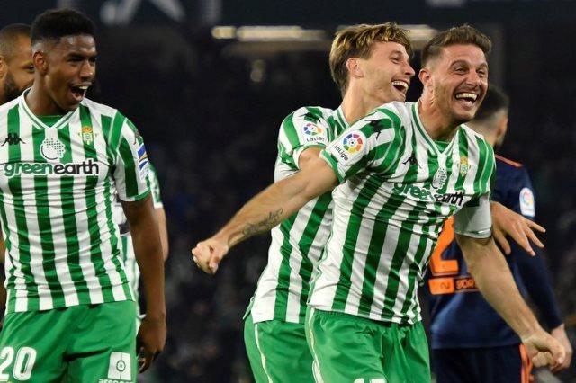 ريال بيتيس وفالنسيا