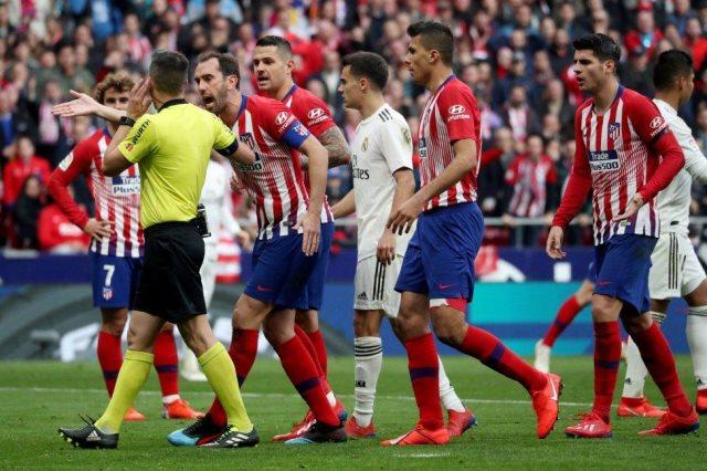ريال مدريد ضد اتليتكو مدريد