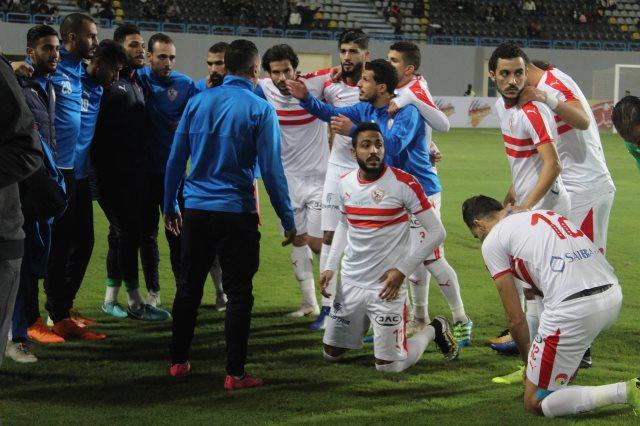 الزمالك سقط أمام بطل الجزائر