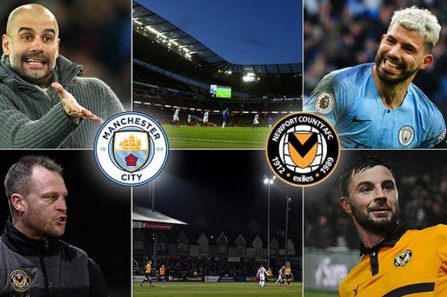 مشاهدة مباراة مانشستر سيتي ونيو بورت بث مباشر بتاريخ 16-02-2019 كأس الإتحاد الإنجليزي