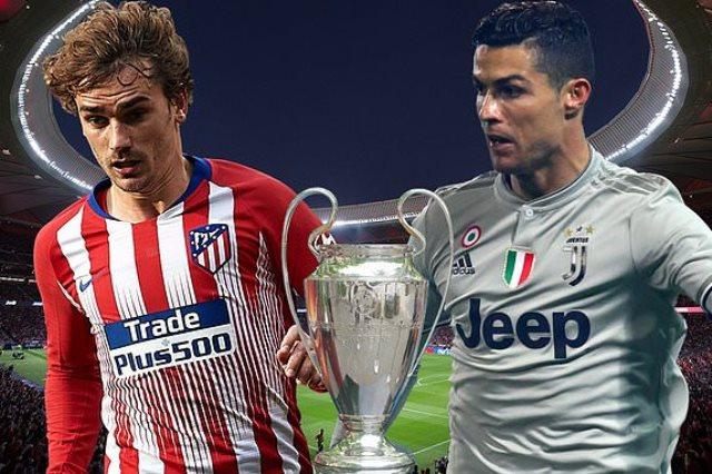 يوفنتوس فى مواجهة أتلتيكو مدريد