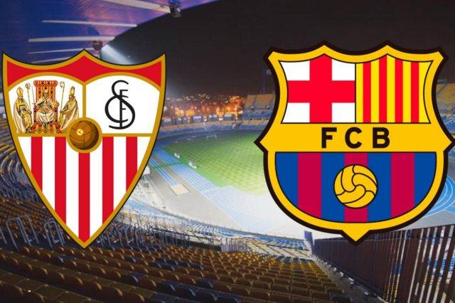اشبيليه ضد برشلونة