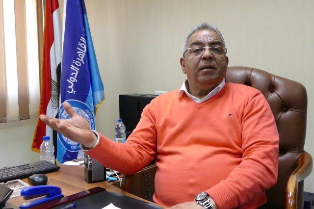 اللواء على درويش مدير هيئة ستاد القاهرة الدولى