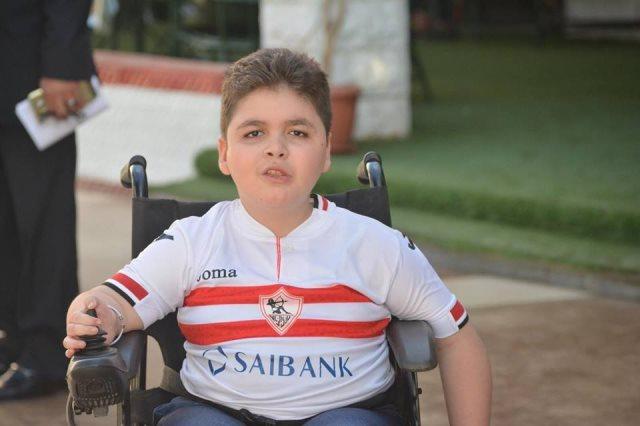 محمود حمدى طفل الزمالك