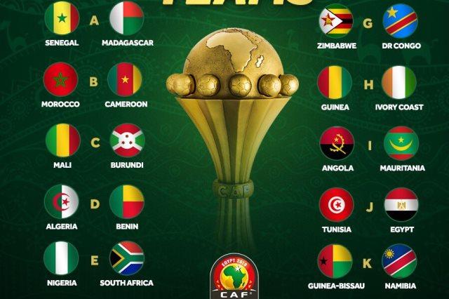 مصر تستضيف كأس أمم أفريقيا