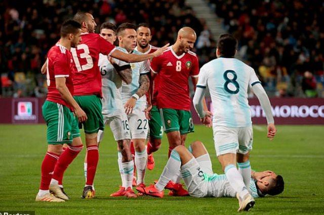 المغرب والارجنتين