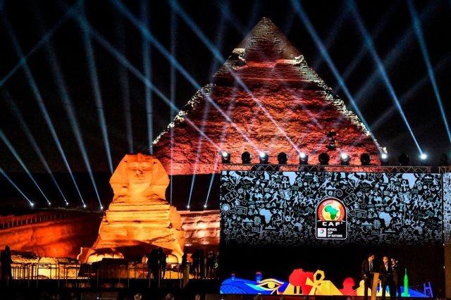 حفل قرعة كأس الأمم الإفريقية يخطف أنظار العالم