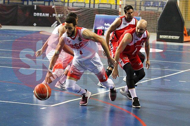 قمة الاهلى والزمالك لكرة السلة